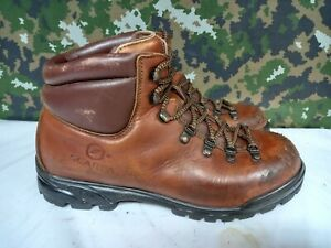 Army Military Surplus Scarpa Leather Hiking Walking Climbing Mountain Boots - 7