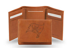Tampa Bay Buccaneers NFL Embossed Leather Trifold Wallet ~ New