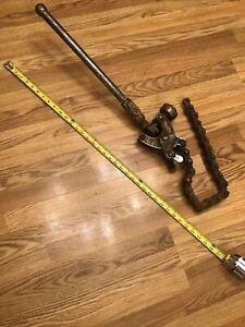 Ridgid- 206 Soil pipe chain snap cutter