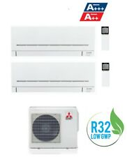 CONDIZIONATORE MITSUBISHI MSZ-AP R-32 DUAL SPLIT 9000+12000 9+12 MXZ-2F42VF A+++