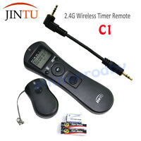 Wireless Timer Shutter Release Remote C1 For Canon XS SL1 T5i T4i T3i 60D USPS