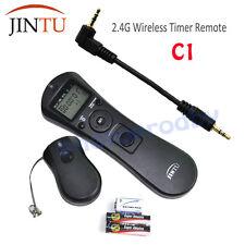 JINTU C1 Wireless Timer Remote Shutter for Canon 70D 700D 650D 550D 450D 350D US