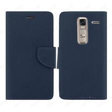 cover A LIBRO custodia HQ LATERAL per LG ZERO H650E NEWTOP® Blu