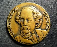UK Charles Dickens 1812-1870 Medal