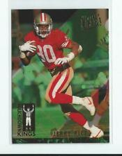 1993 Ultra Touchdown Kings #5 Jerry Rice 49ers