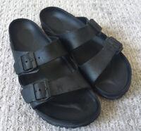 BIRKENSTOCK MENS Size 43 (Size 10 US) Black EVA Sandals