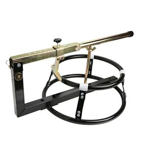 Portable Motorcycle Tire Changing Stand with Bead Breaker Motorsport Assistance