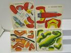 RARE 1950 KELLOGG'S CEREAL PREMIUM DIE CUT PUNCH OUT CARD SET ***WOW***