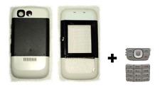 Fachada / Carcasa / Cover (en blanco y negro) + Teclado ~ NOKIA 5200