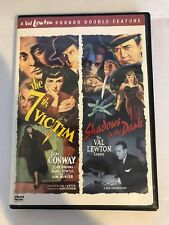 The 7th Victim & Shadows In The Dark Double Feature DVD - Val Lewton Legacy VG