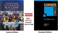 Cornerstones for College Success by Robert M. Sherfield, Patricia G. Moody