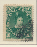Newfoundland (Canada) Stamp Scott #44, Used