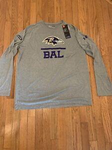 Under armour Baltimore Ravens NFL Shirts for sale | eBay