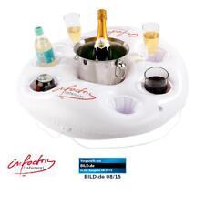 Poolbar aufblasbar: Aufblasbarer Getränkehalter im coolen Rettungsring-Design