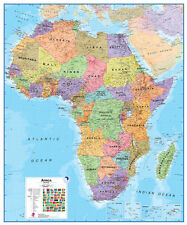 Maps International Africa Laminated Wall Map