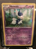 Meowstic - 43/106 - Rare - Shattered Holo Pokemon XY Flashfire MINT CONDITION