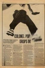 Shalamar Jeffrey Daniel Interview NME Cutting 1982