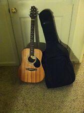 Samick Greg Bennett D1 LH acoustic guitar