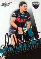 ✺Signed✺ 2012 PENRITH PANTHERS NRL Card BRAD TIGHE