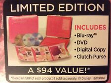 Disney Sharpay's Fabulous Adventure Limited Edition + Clutch Purse, Blu-Ray,DVD,