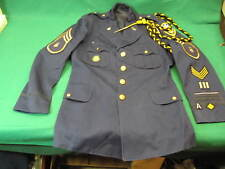 Culver Military Academy Tunic Jacket w/ Patches & Medals  Parade Small (G5)