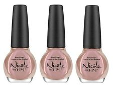 LOT OF 3 - Nicole By OPI nail polish lacquer IT'S POSSIBLE Rose Metallic