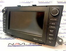 used Original Toyota AVENSIS WMA MP3 Touchscreen navigation system gps