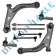 2001-2004 Ford Escape Front Lower Control Arm Ball Joint Tierod Sway Bar 8p Kit