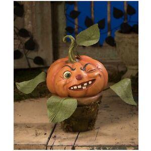 Bethany Lowe Cheeky Pumpkin Little Shop Horror Halloween Retro Vntg Style Decor