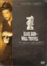 Have Gun Will Travel - The Complete First Season (DVD, 2004, 6-Disc Set) REDUCED