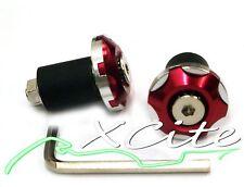 Red barends bar ends CBR250RR HONDA DUCATI SUZUKI #BE015#
