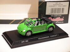 VW VOLKSWAGEN CONCEPT 1 CABRIO 1994 DETAILCARS VERT 1:43
