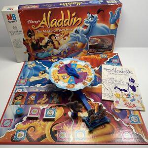 Disney's Aladdin The Magic Carpet Board Game Rare Vintage 1992 Complete