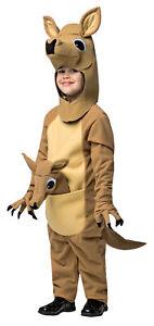 CHILD KANGAROO ANIMAL FUN HALLOWEEN COSTUME DRESS SIZE 3-4T GC654034