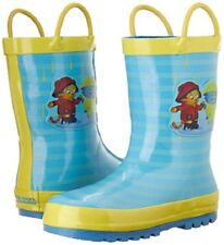 Daniel Tiger Rubber Rain Boot With Handles (Toddler)