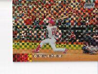 Tommy Edman 2020 Stadium Club Chrome  Refractor #44 Parallel St. Louis Cardinals