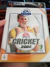 Cricket 2004 (FAT) -  PC GAME - FREE POST