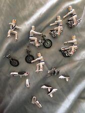 1976 IDEAL DIE-CAST METAL EVEL KNIEVEL PRECISION MINIATURE STUNT CYCLE Junkyard