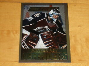 1995-96 Topps Finest Defenders Rare Gold #13 Patrick Roy
