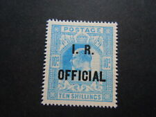 Gran Bretagna 1886  FISCO IR OFFICIAL  francobolli nuovo M.N.H**   RRR