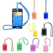Universal Mobile Phone Holder silicone Neck Strap Lanyard