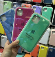 Genuine Original Soft Silicone Case Cover For Apple iPhone 11 11Pro 11Pro Max