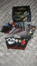 MICHAEL JACKSON PANINI RED FULL SET  190 TRADING CARDS +EMPTY BOX NEW NO PROMO