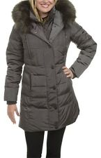NWT Women's 1 Madison Luxe Down Water Repellent  Parka Winter Coat Size Small