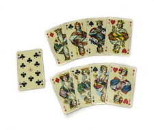 ASS Altenburger Stralsunder Speilkarten Fabriken Playing Cards Burgundian court