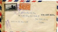 PANAMA JULY 10,1945  CENSORED COVER TO NEW YORK