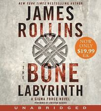 James Rollins BONE LABYRINTH Unabridged CD *NEW* FAST Ship in BOX !
