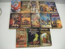 Lot 13 Dragon Lance books