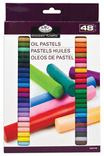 48 QUALITY PIGMENT COLOUR OIL PASTELS SET ARTISTS DRAWING & SKETCHING OILPA-548