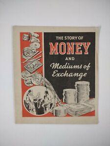 ALKA SELTZER 1930s Brochure MONEY STORY mediums Exchange MINDFULNESS economics